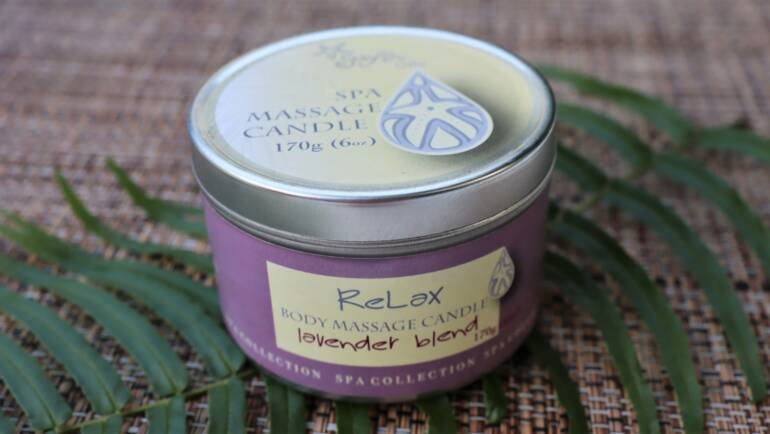 New Spa Massage candles