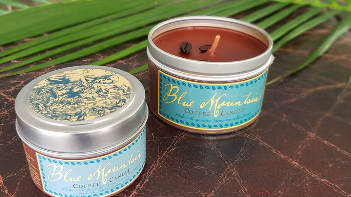 Our award winning Coffee candles are back